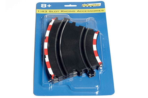 DOUBLE LANE CURVE TRACK 2PCS